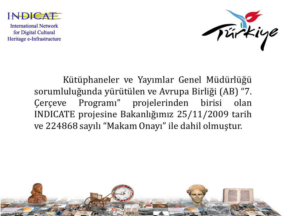 Proje 24 aylık bir süre içerisinde (Eylül 2010 – Kasım 2012) tarihleri arasında gerçekleştirilecektir.
