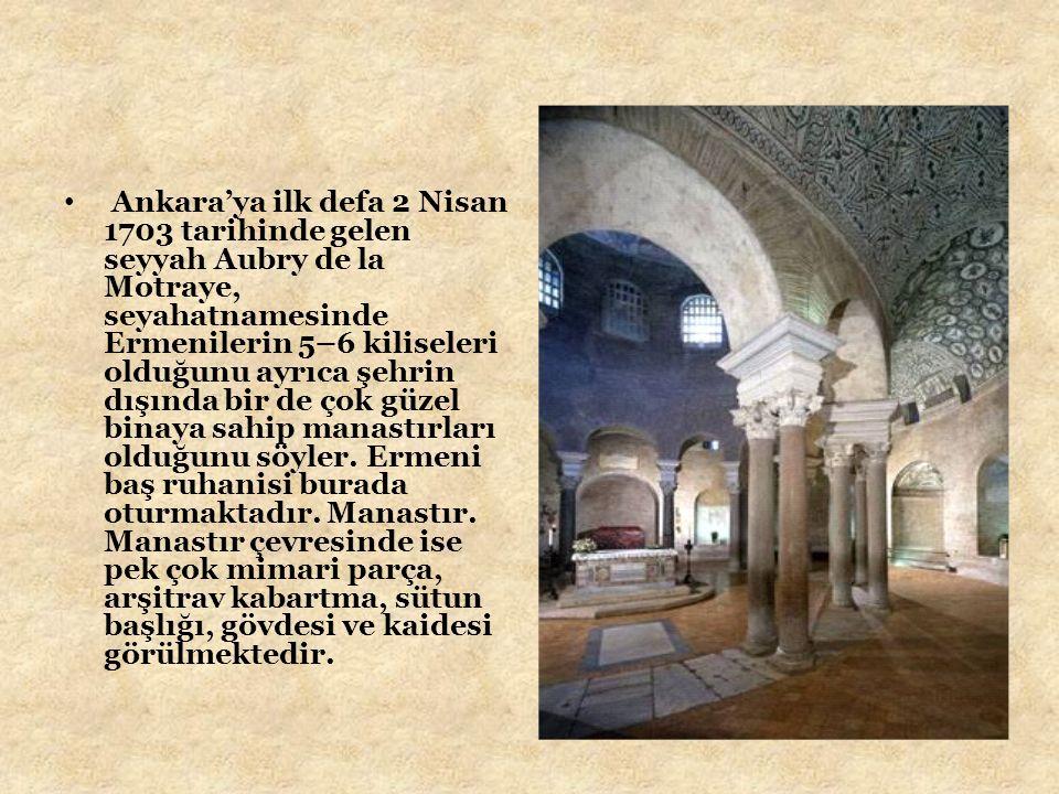 Diğer bir Fransız seyyah Paul Lucas ise Vank manastırına uğrar.