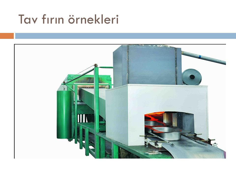Tav fırınları alüminyum bobinlerinin ışıl işlemleri için imal edilir.