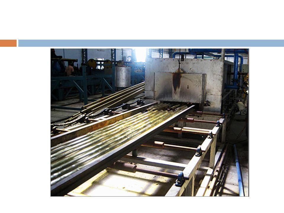  Isıtmada izlenen metod ingotların şarj sıcaklığına ve çeliğin kimyasal bileşimi ile değişen ısı iletkenliğine ve plastikliğine bağlıdır  Isıtma işleminin başında çukur maksimum çukur maksimum gaz ile ateşlenir.