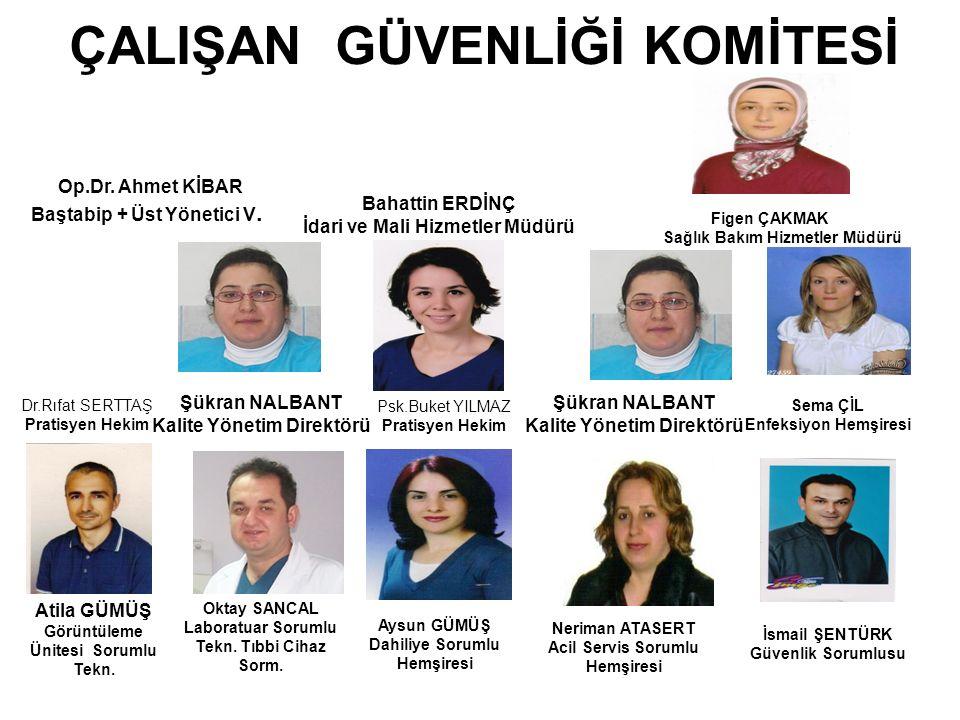 ÇALIŞAN GÜVENLİĞİ KOMİTESİ Atila GÜMÜŞ Görüntüleme Ünitesi Sorumlu Tekn.