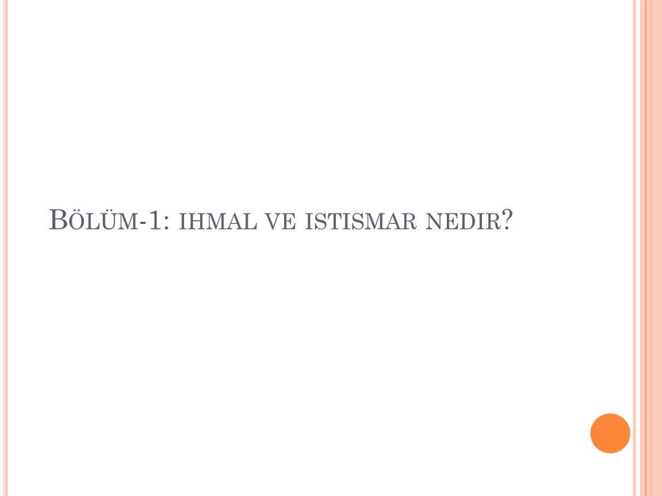T ÜRKIYE ' DE ÇOCUK ISTISMARı Türkiye'de 1980-1982 yılları arasında 8 ilde yapılan bir araştırmada sonuçlar şöyle tespit edilmiştir: Kız çocukların %34,6'sının Erkek çocukların ise %32,5'inin ihmal ve istismar kurbanı oldukları açıklanmıştır.