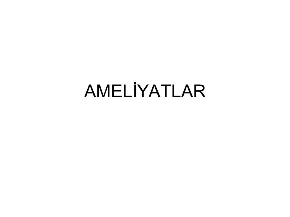 AMELİYATLAR