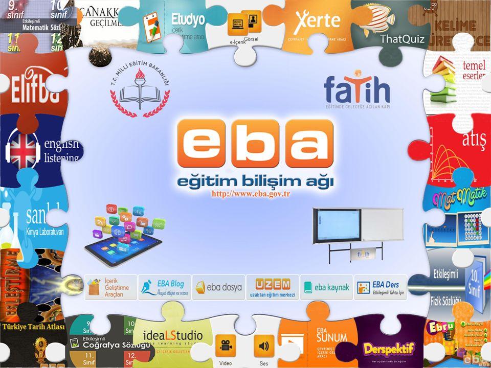 www.eba.gov.tr Hazırlayan Serap TİRYAKİ BT Rehber Öğretmeni