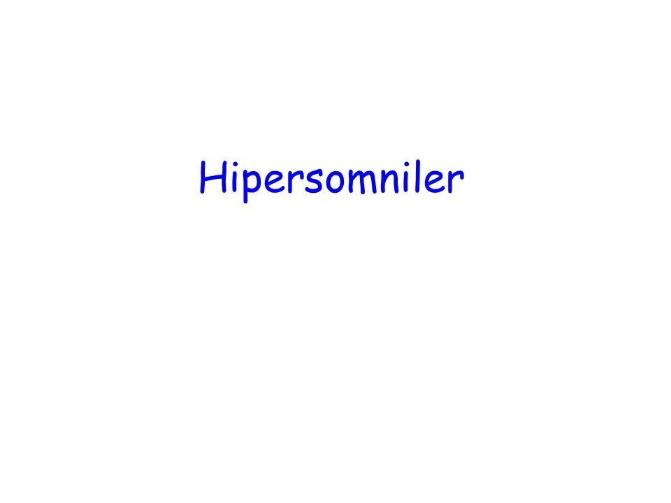 Hipersomniler