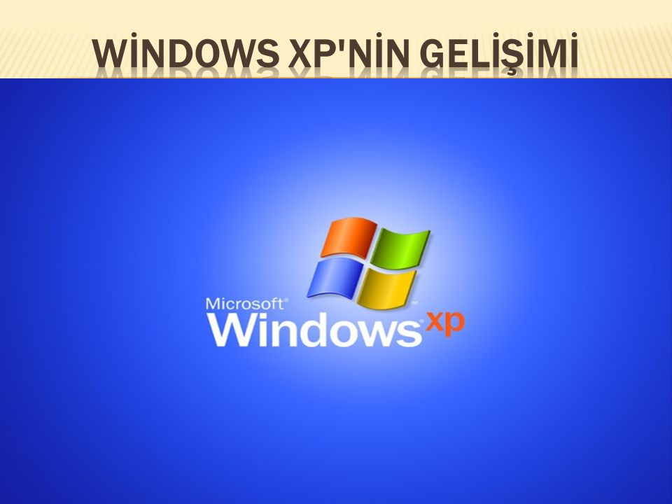  Windows XP Microsoft un kişisel bilgisayarlar ve sunucu sistemleri için ürettiği işletim sistemi ailesi Windows un NT çekirdeği üzerinde yükselen altıncı ara sürümüdür.