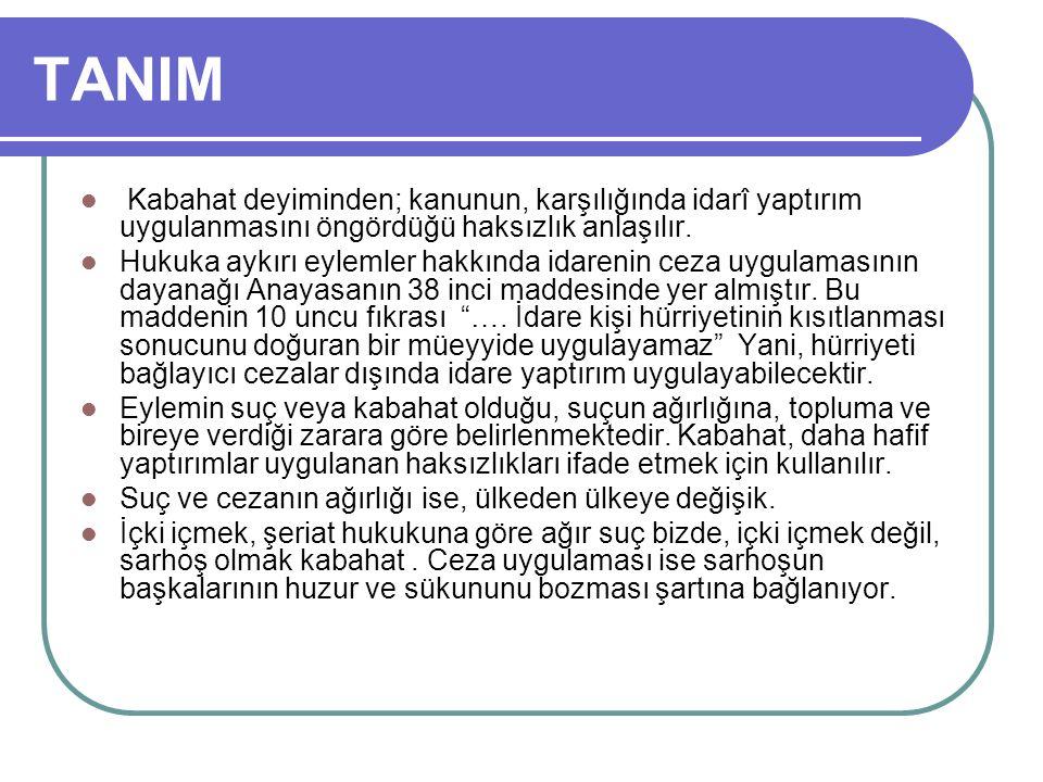 HATA Türk Ceza Kanununun hata hallerine ilişkin hükümleri, ancak kasten işlenen kabahatler bakımından uygulanır.