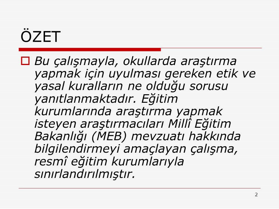 43 SONUÇ VE ÖNERİLER 3.