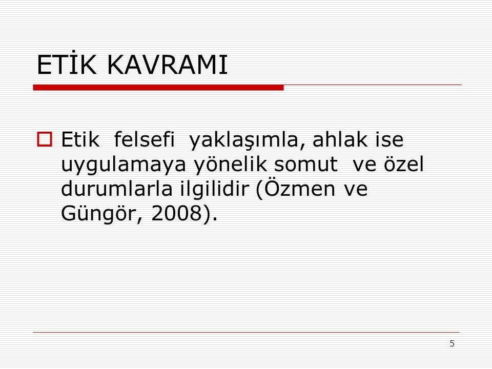46 KAYNAKÇA  Anadolu Üniversitesi.(2003). Bilim Etiği Kılavuzu.