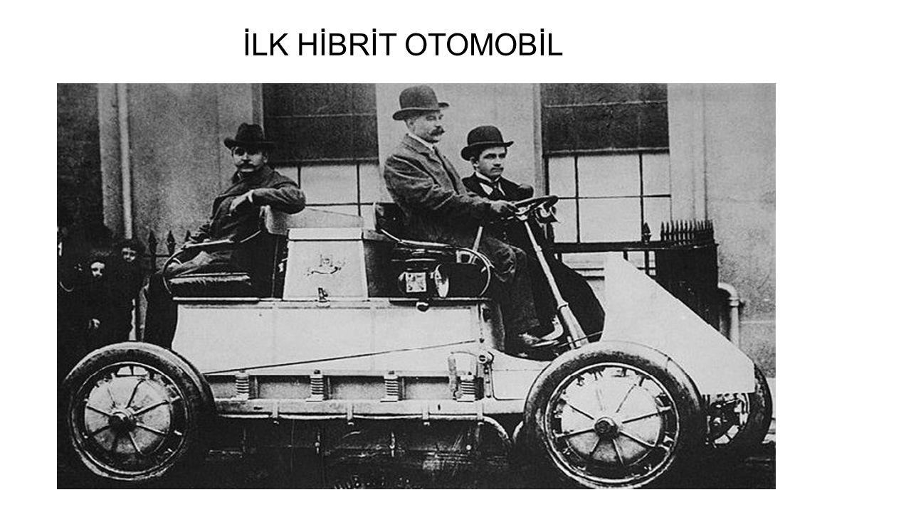 İLK HİBRİT OTOMOBİL