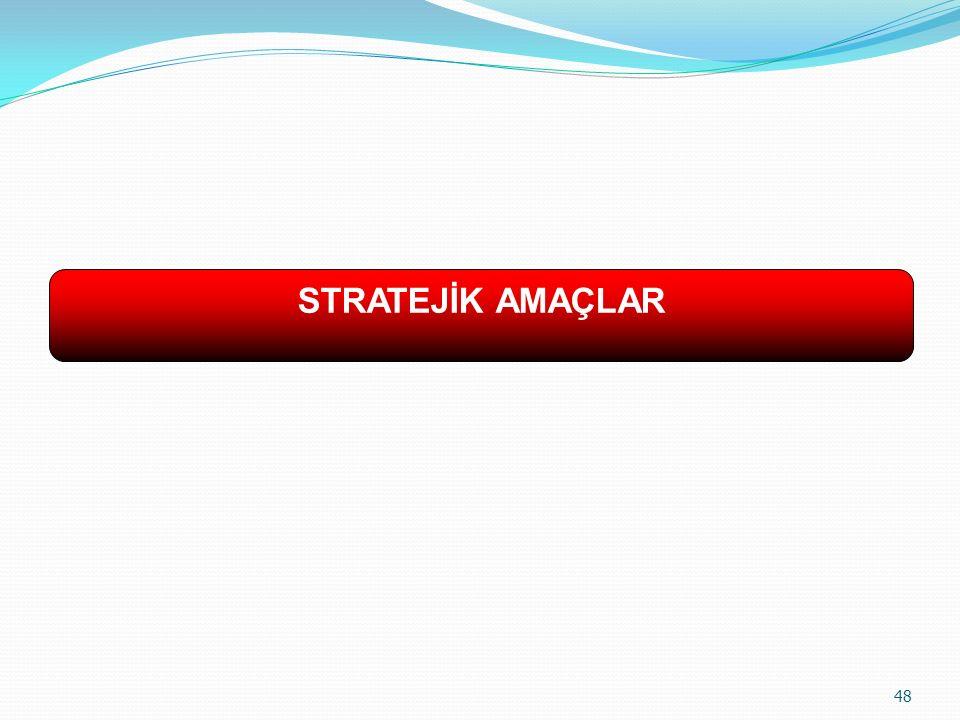STRATEJİK AMAÇLAR 48