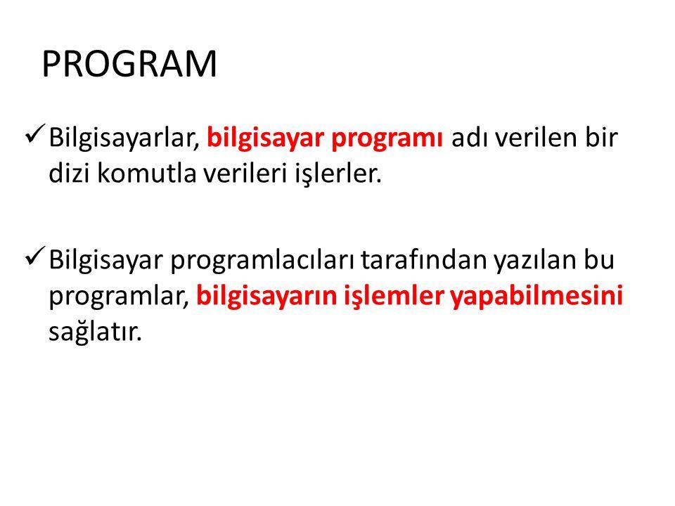 Assembler olarak adlandırılan çevirici programlar, assembly dilinde yazılmış programları makine diline çevirmek için geliştirilmiştir.