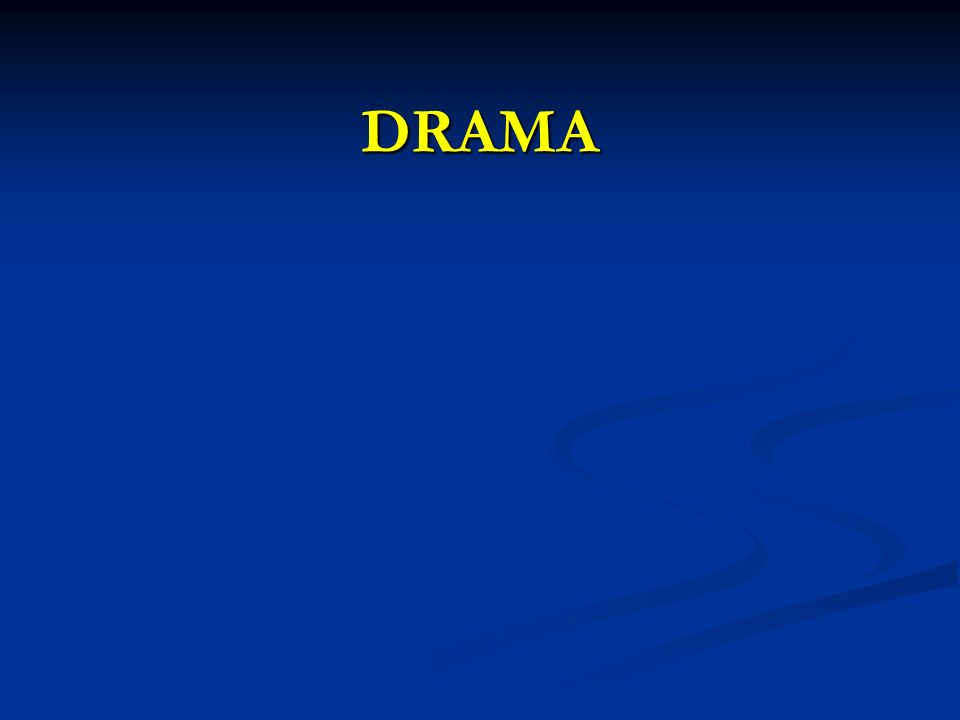 Drama tiyatronun araçlarını kullanan bir sürecin adıdır.