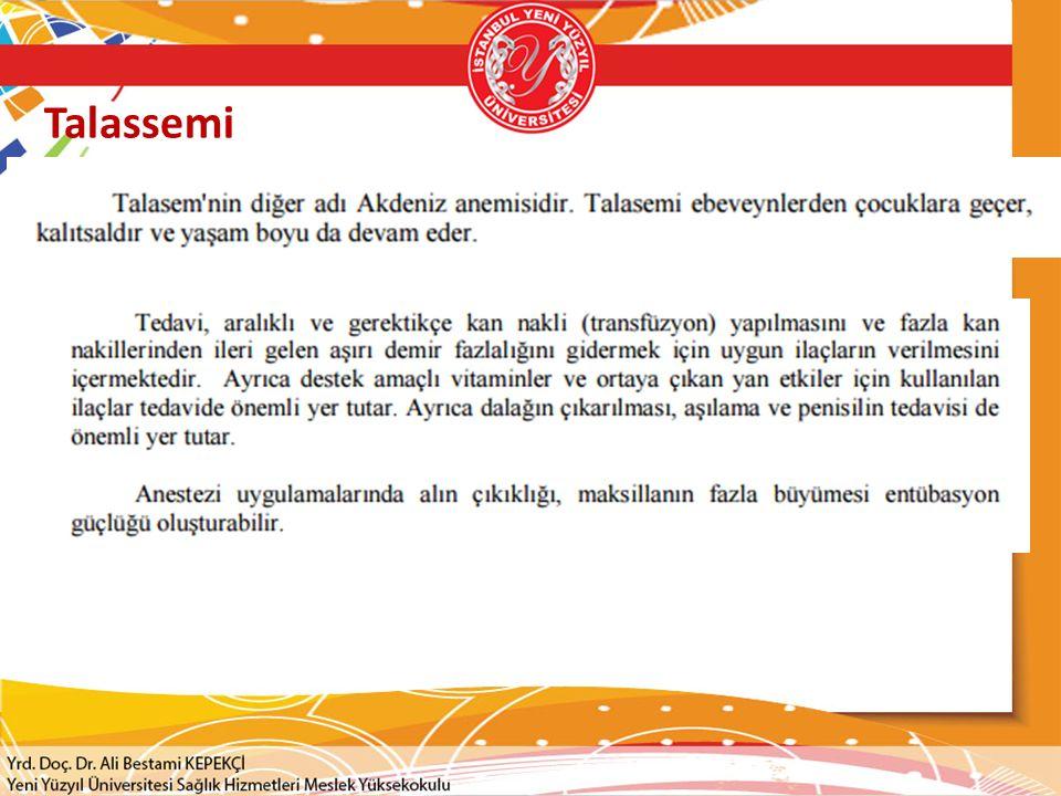 Talassemi