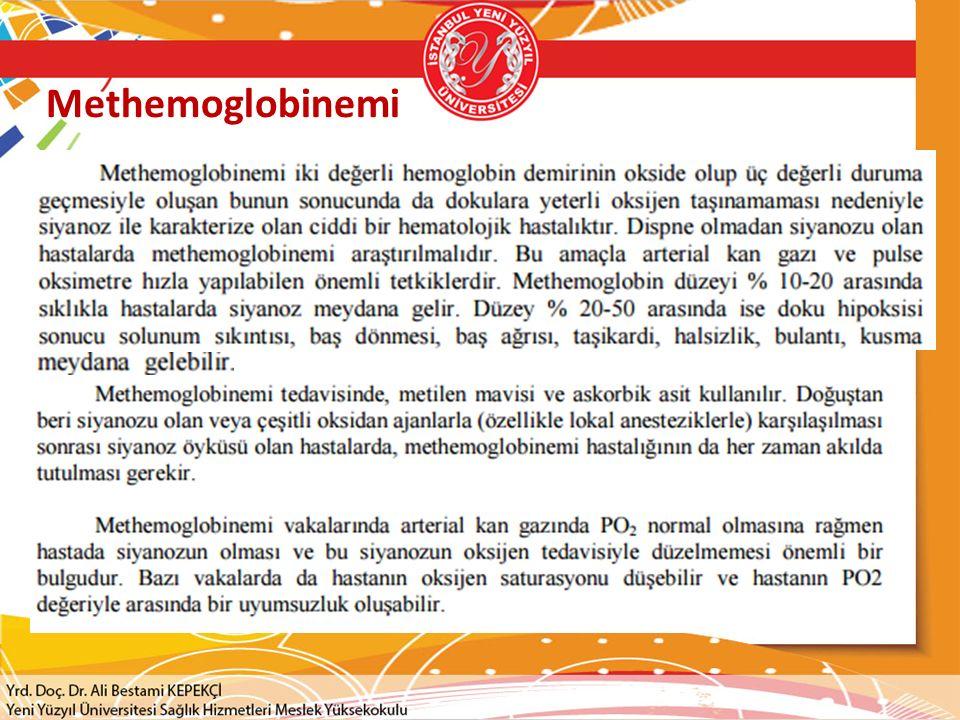 Methemoglobinemi