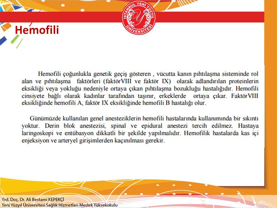 Hemofili