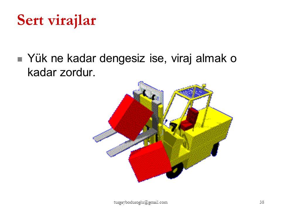 Emniyet Kuralı Hız sınırlarına uyulmalı İş makinesi yavaş kullanılır. 37 turgayboduroglu@gmail.com