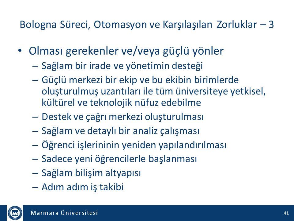 Marmara Üniversitesi Dinlediğiniz için teşekkürler… Sonuç ve Değerlendirme Sorular? 42