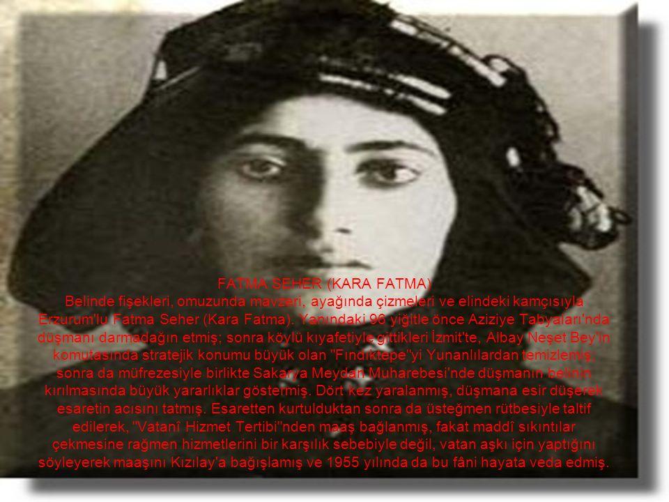 KILAVUZ HATİCE Adana ve yöresinde Fransızlar'a karşı verilen mücadelede yer alan ve milis kuvvetlerine katılan Kılavuz Hatice, 8 Mayıs 1920'de milli kuvvetler Pozantı'ya taarruzu başladığında, kritik bir duruma düşen Fransızları kandırarak kılavuzluk eder.