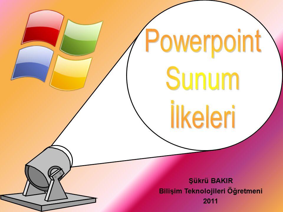 Powerpoint, Bir grup insana, belli bir konu hakkında tanıtım, bilgilendirme yada açıklama yapmak için kullanılan sunum programının adıdır.
