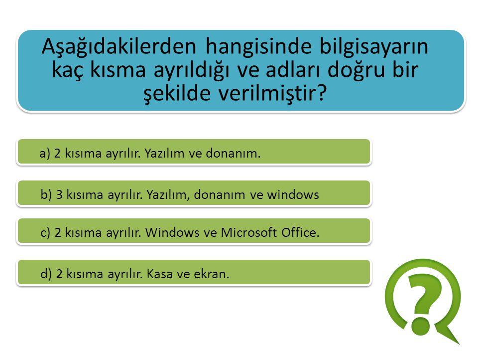 Bilgisayar kullanımı sırasında oluşabilecek sağlık sorunları arasında aşağıdakilerden hangisi yer almaz.