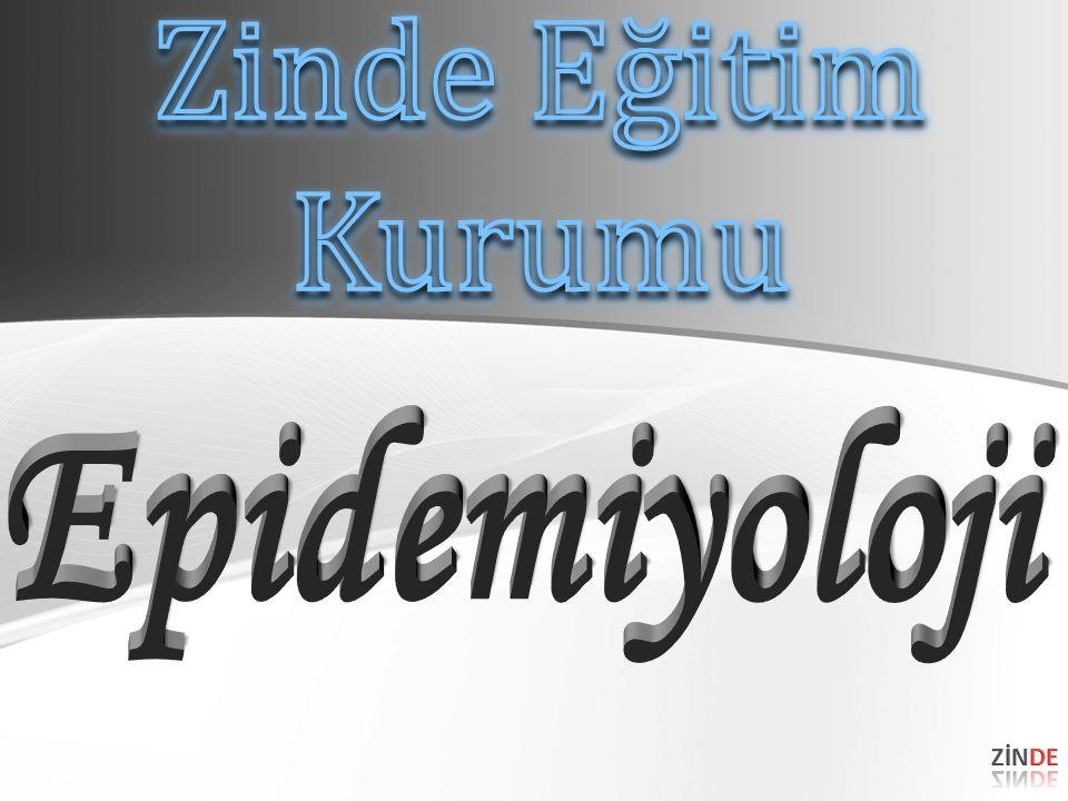 EpidemiyolojiEpidemiyoloji Aşağıdakilerden hangisi epidemiyolojinin temel kullanım amaçlarından biri değildir.