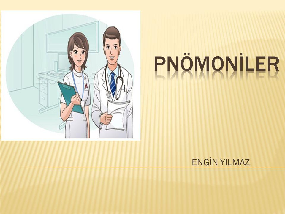 Pnömoni akciğerlerin klinik ve radyolojik bulgularıyla karakterli alt solunum yolu enfeksiyonudur.