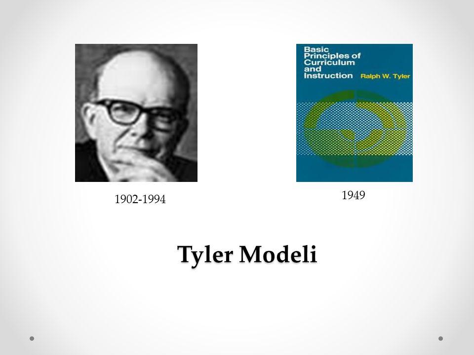 Tyler Modeli Tyler Modeli 1949 1902-1994