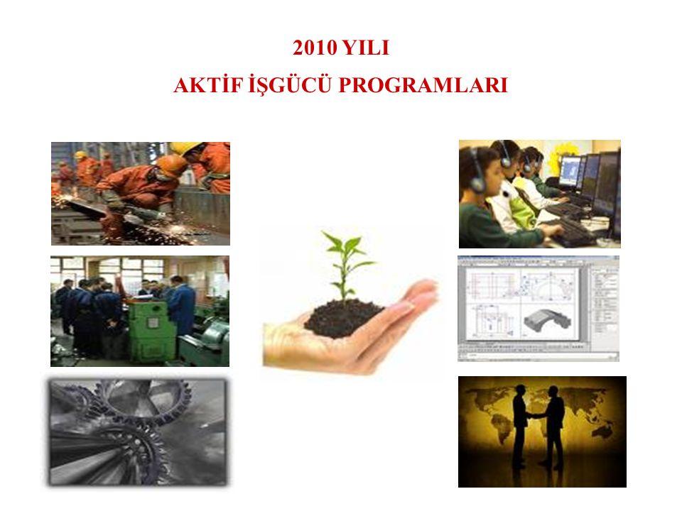 2010 YILI AKTİF İŞGÜCÜ PROGRAMLARI