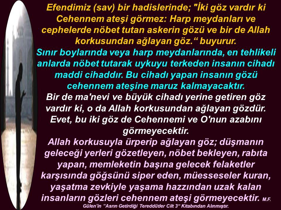Kur'an- Kerim Fatırsuresi 28.Ayet..