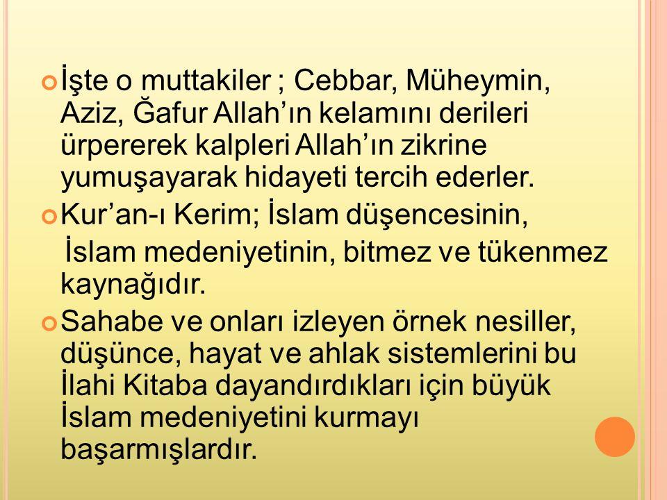 KAYNAKÇA Diyanet Vakfı Kur'an-ı Kerim Meali Prof.Dr.
