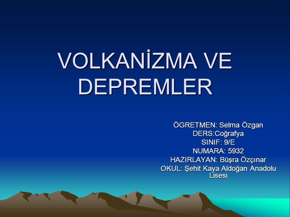 TÜRKİYE DEKİ FAY HATLARI Kuzey Anadolu Fay Hattı (KAF): Saroz Körfezi'nden başlar, Marmara Denizi, Sapanca Gölü, Adapazarı, Tosya ve Erzincan üzerinden Van Gölü kuzeyine kadar uzanır.