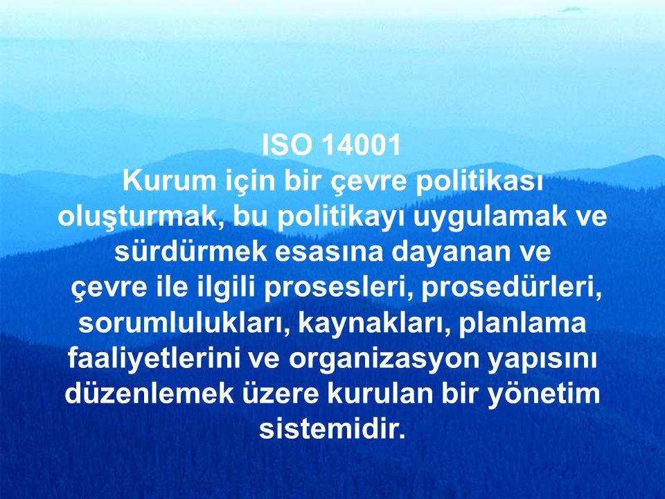 78 ÇEVRE YÖNETİM SİSTEMİ ISO 14001
