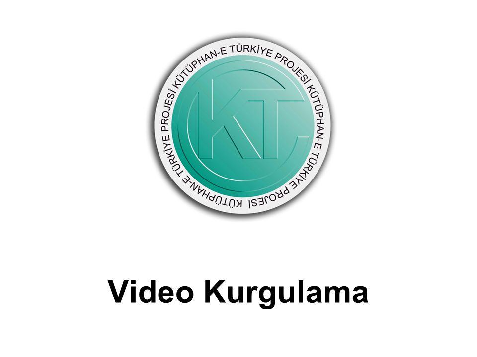 Video Kurgulama