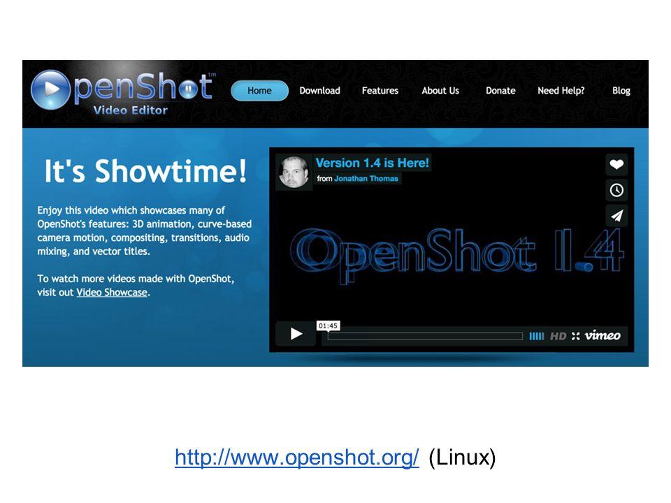 http://www.openshot.org/http://www.openshot.org/ (Linux)