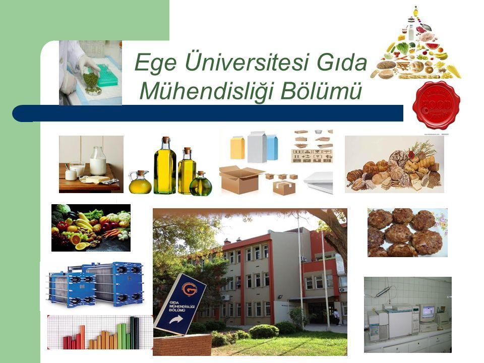 Ege Üniversitesi Gıda Mühendisliği Bölümü