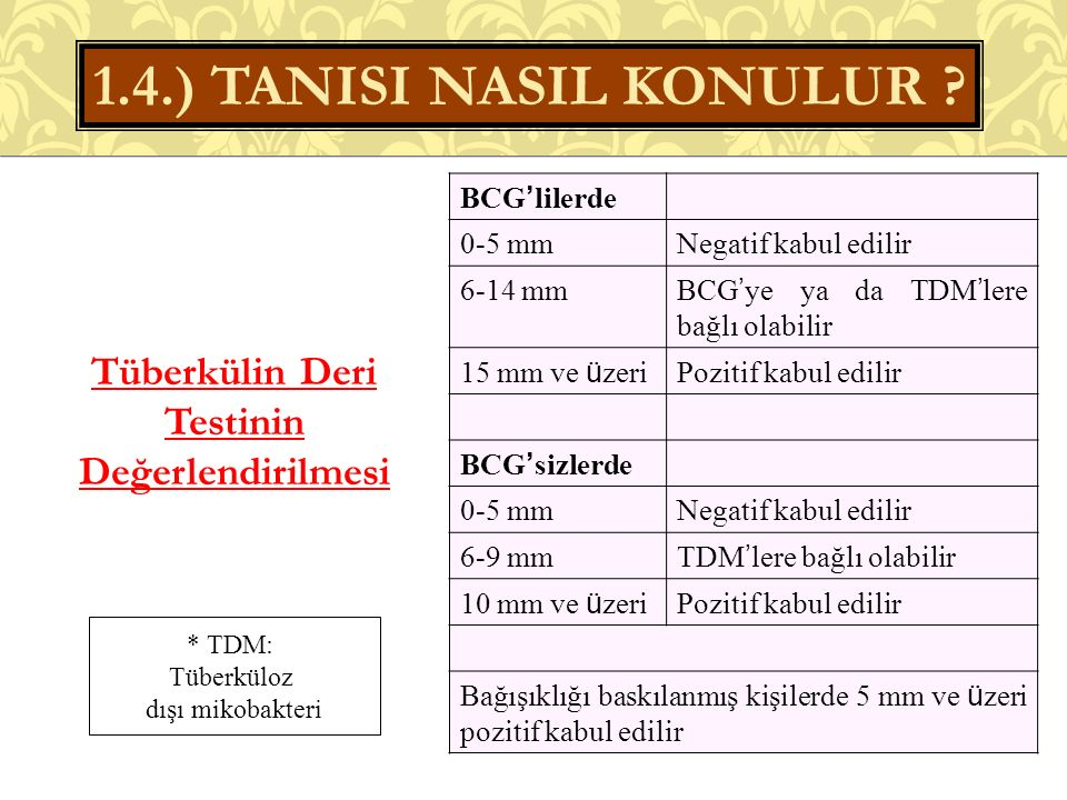 1.4.) TANISI NASIL KONULUR .