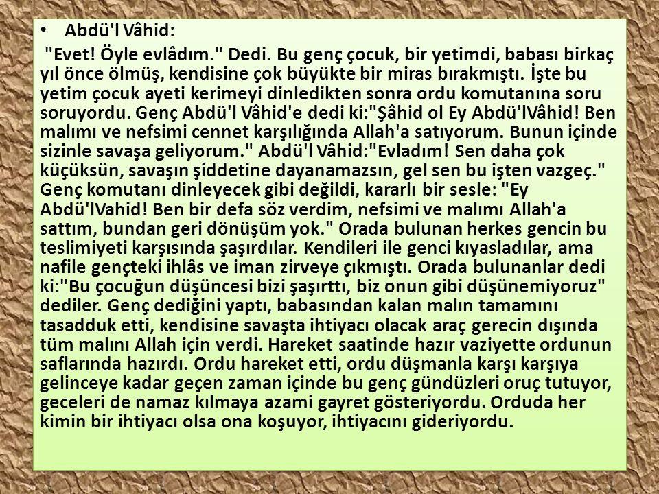 Abdü'l Vâhid: