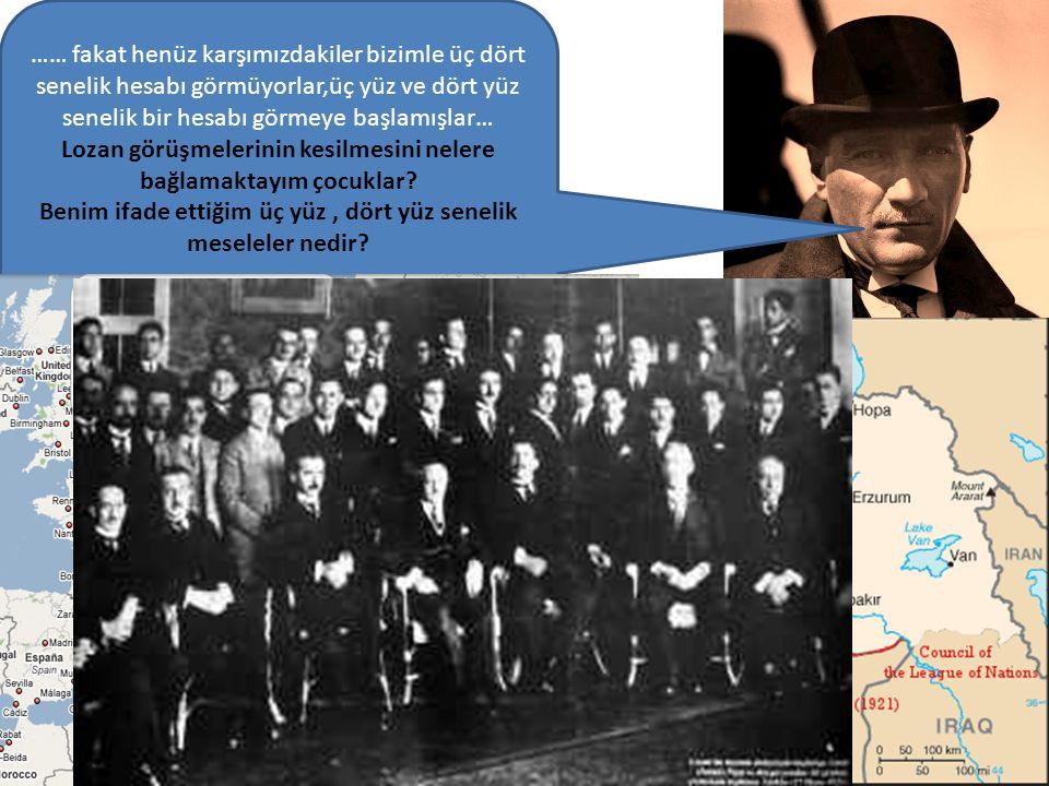 3 Saltanatın Kaldırılması (1 Kasım 1922) İtilaf devletleri Türkiye'de iç çekişmeye sebep olmak için Lozan görüşmelerine hem TBMM'yi hem de İstanbul Hü