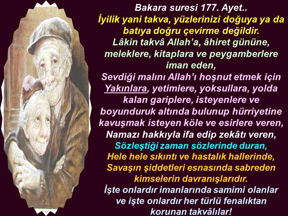 Nisa Suresi 36.Ayet.. Yalnız Allah'a ibadet edip, O'na hiçbir şeyi şerik yapmayın.