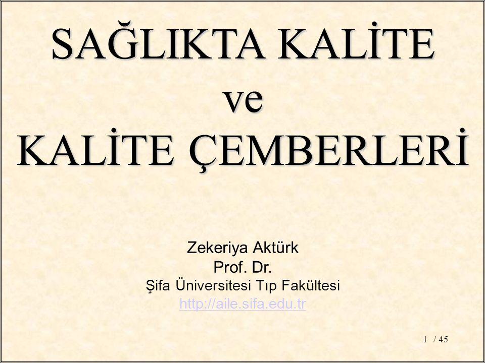 / 451 Zekeriya Aktürk Prof. Dr.