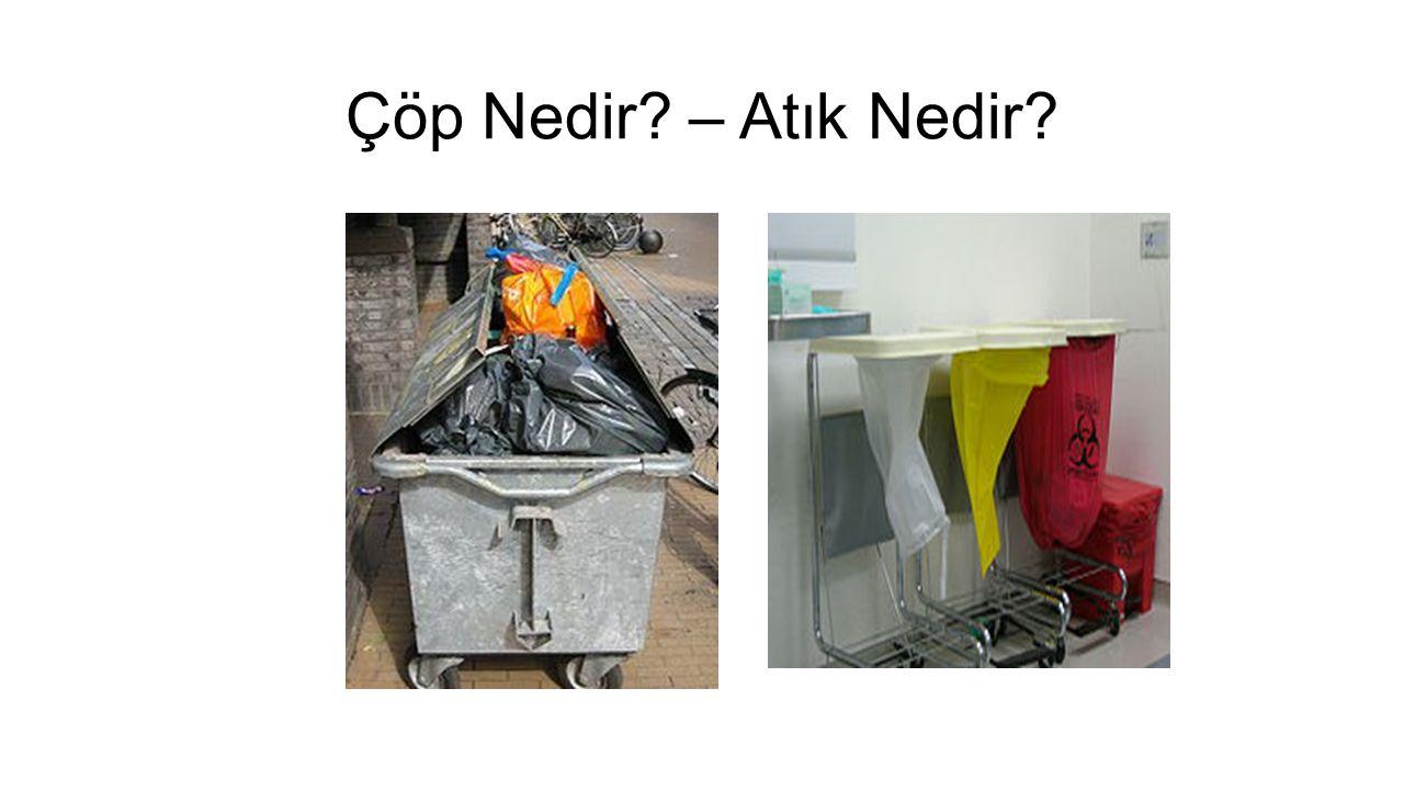 Çöp Nedir? – Atık Nedir?