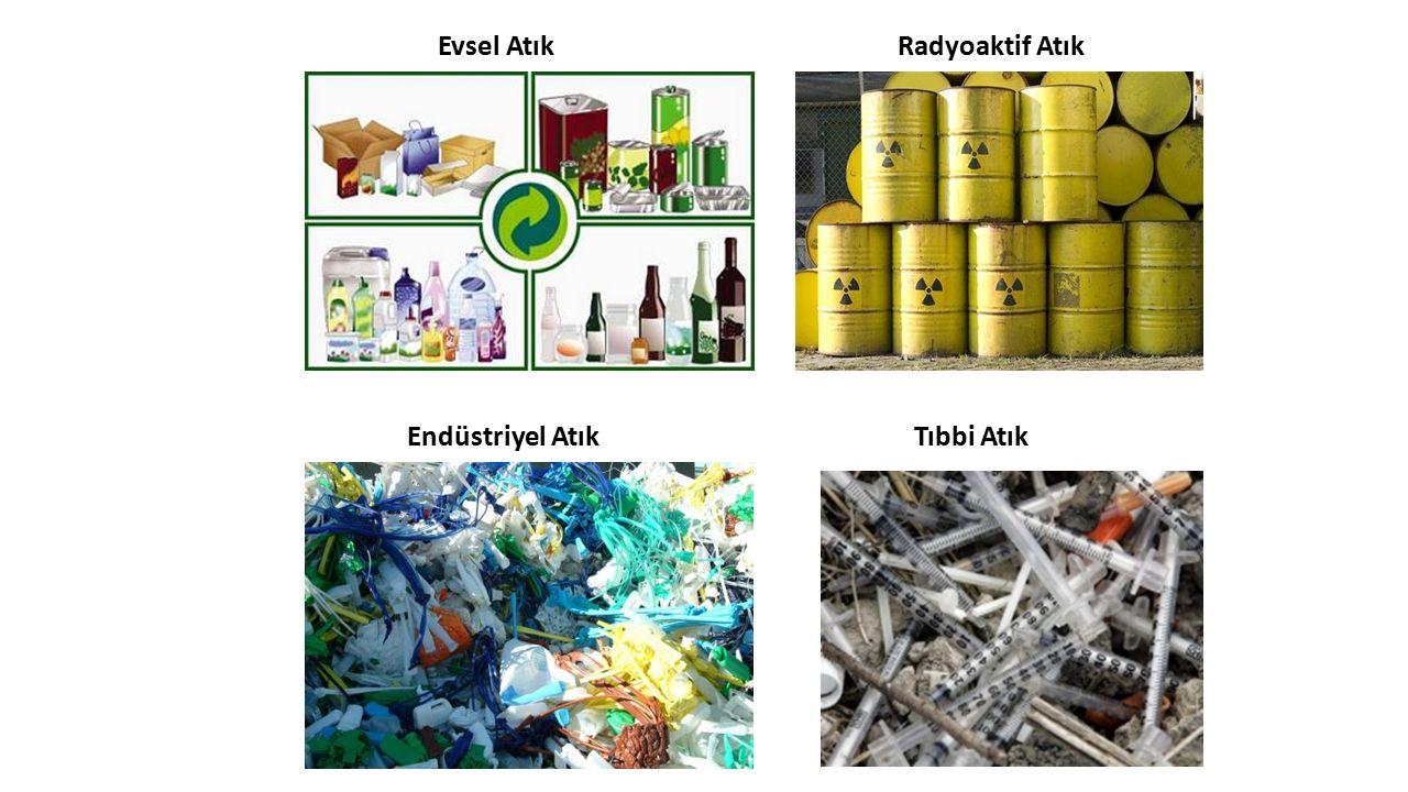 Evsel AtıkRadyoaktif Atık Endüstriyel AtıkTıbbi Atık