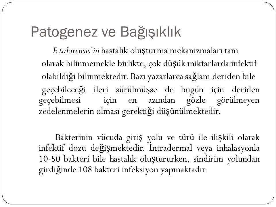 Patogenez ve Bağışıklık F.