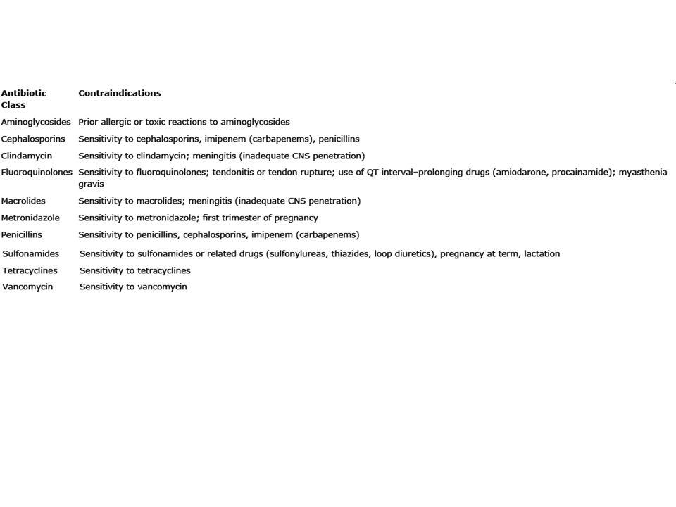 Anti-Bakteriyel İlaçlar İlaç etkileşimleri; Ana olarak iki mekanizma – İyon bağlaması sonucu emilimde azalma (tetrasiklinler ve florokinolonlar; kalsiyum, demir preparatları ve anti-asitlerle birlikte kullanılırsa emilimi bozulur) – Sitokrom P 450 inhibisyonu (Siprofloksasin, klaritromisin, TMP-SMX)