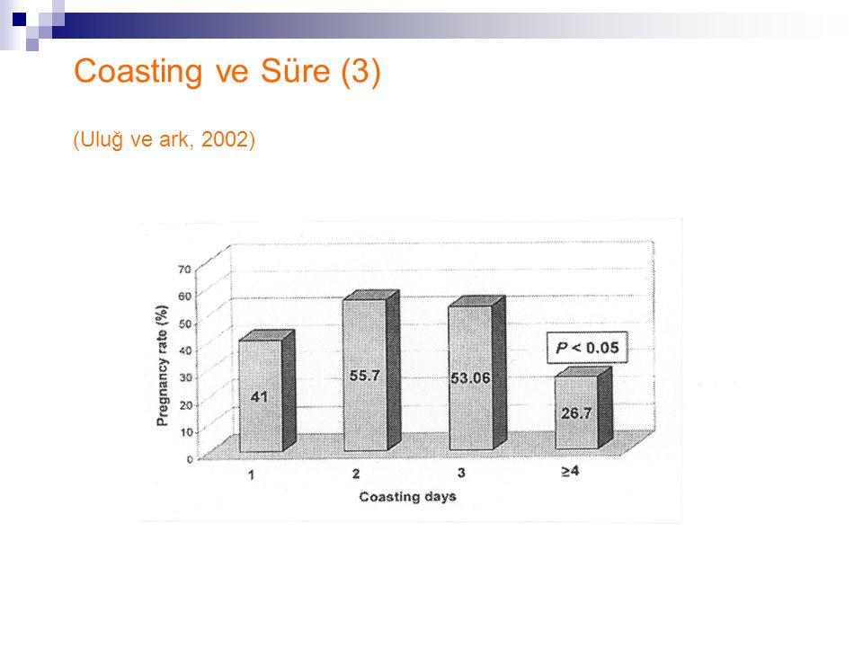 Coasting ve Süre (3) (Uluğ ve ark, 2002)