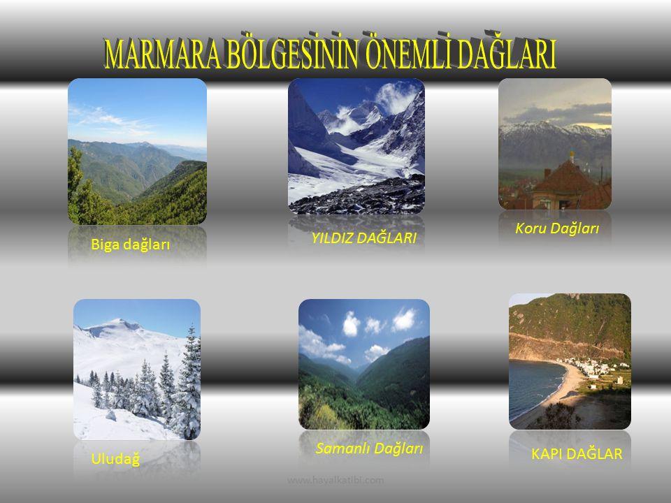 YILDIZ DAĞLARI Koru Dağları Biga dağları KAPI DAĞLAR Uludağ Samanlı Dağları www.hayalkatibi.com