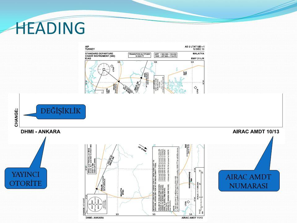 Hava Aracı Park Planı Uçak tiplerine göre apronda tesis edilmiş park pozisyonlarını gösterir.