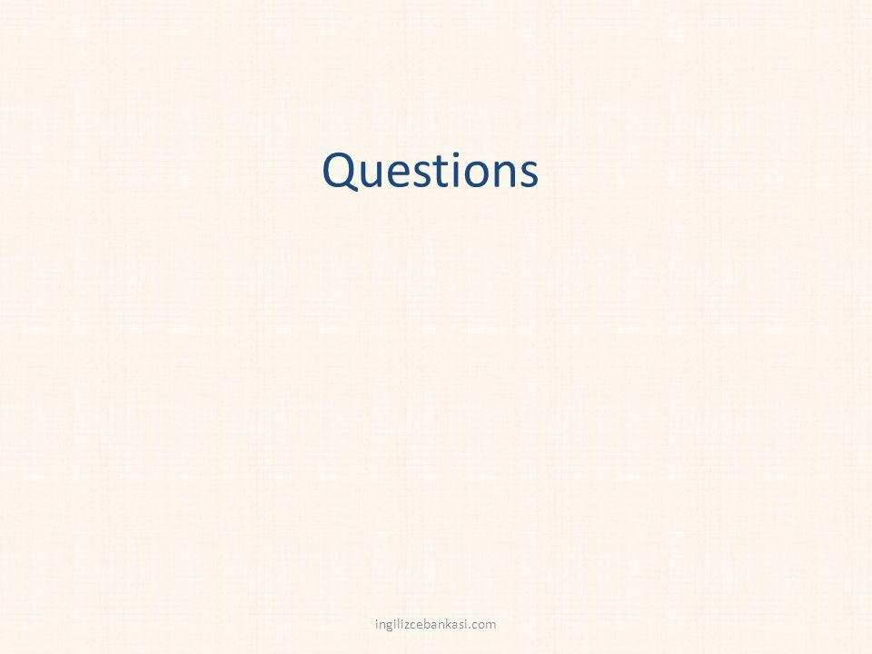 Questions ingilizcebankasi.com