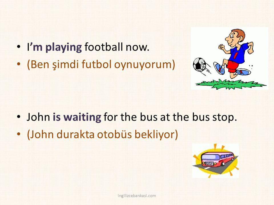 Are the students writing now.(Öğrenciler şimdi yazıyorlar mı?) B: Yes, they are.